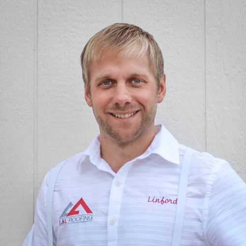 Linford Zook is also an owner at L&L. He loves meeting customers, finding out what their needs are, and offering the best possible roofing solutions for them.