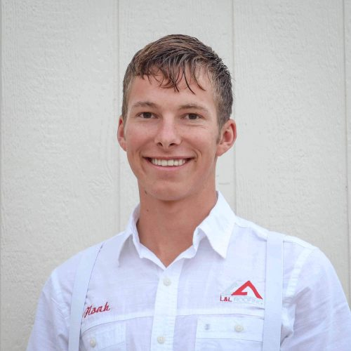 Not only is Noah responsible for our vehicle maintenance, he also excels in paying close attention to details on roof projects. To reach Noah, call 724-388-8672